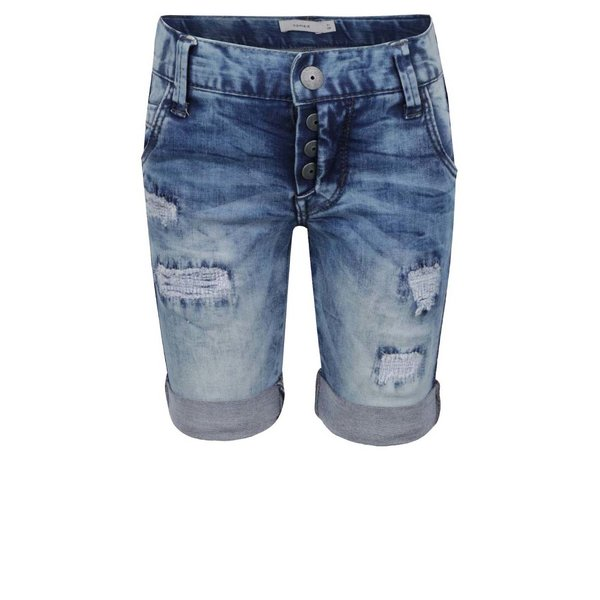 Pantaloni scurți Name It Abrash din denim pentru băieți de la name it in categoria Pantaloni, pantaloni scurți