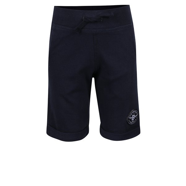 Pantaloni scurți albaștri Blue Seven cu aplicație de la Blue Seven in categoria Pantaloni, pantaloni scurți