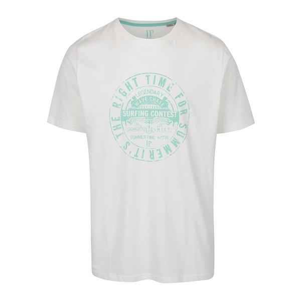 Tricou crem JP 1880 cu print de la JP 1880 in categoria tricouri