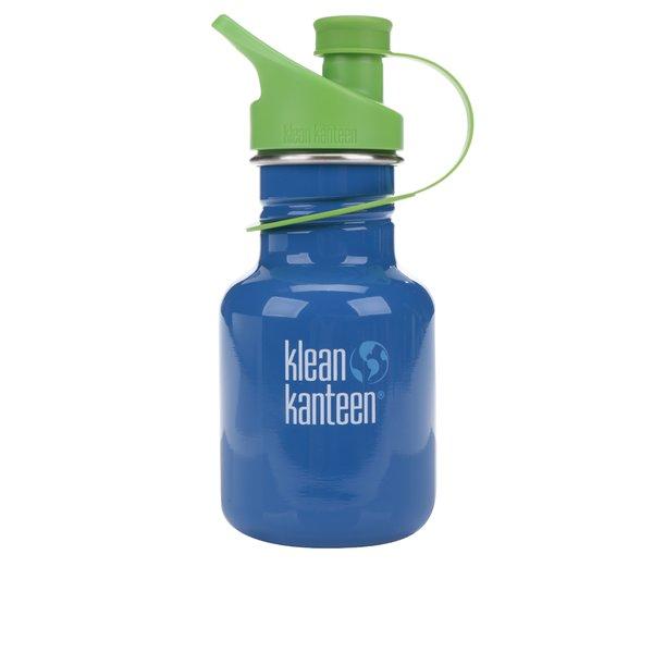 Sticlă de apă albastru & verde Klean Kanteen Kid Classic Sport 355 ml a