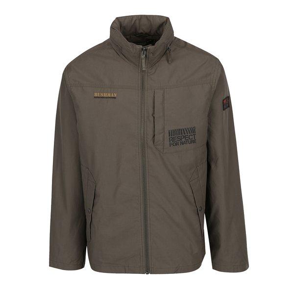Jachetă kaki cu glugă ascunsă BUSHMAN Duncan de la BUSHMAN in categoria Geci, paltoane, jachete