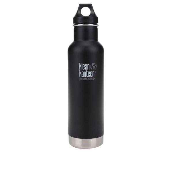 Sticlă termos negru & argintiu Klean Kanteen Insulated Classic 592 ml de la Klean Kanteen in categoria Bucătăria