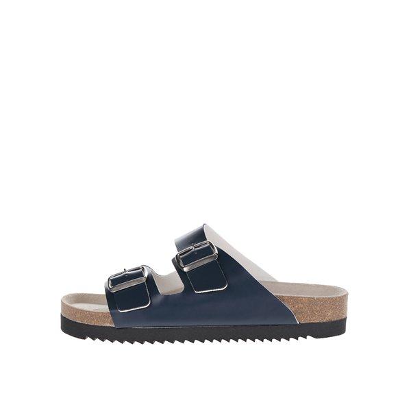 Papuci albastri cu catarame Snaha Lima 160