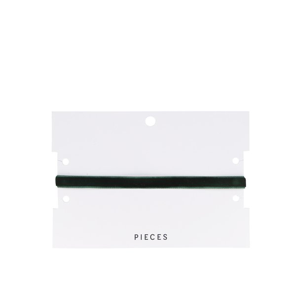 Choker verde din catifea -Pieces Figge