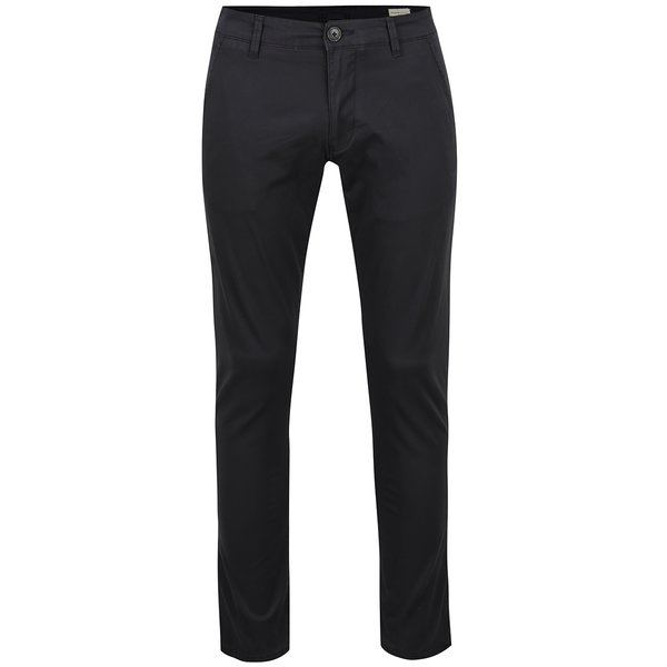 Pantaloni chino gri închis Selected Homme