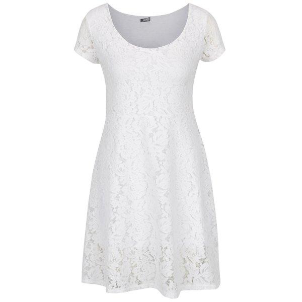 Rochie midi din dantelă albă ZOOT de la ZOOT in categoria rochii de seară