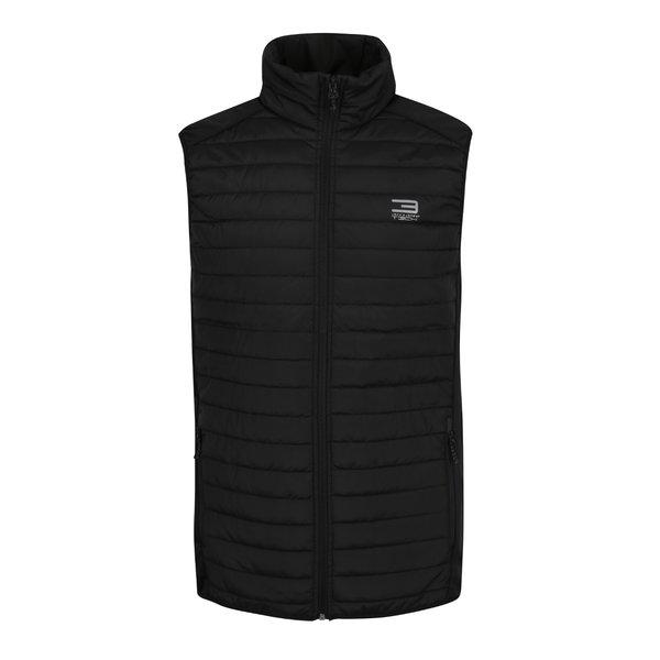 Vestă neagra matlasată impermeabilă Jack & Jones Tech Multi Body Warmer de la Jack & Jones in categoria Geci, paltoane, jachete