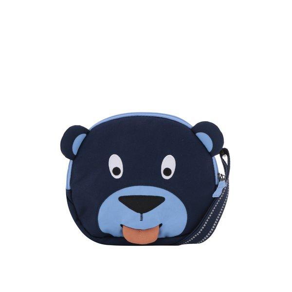 Geantă bleumarin crossbody în formă de urs Affenzahn 2 l