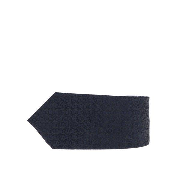 Cravata bleumarin din matase Jack & Jones Premium Salvador