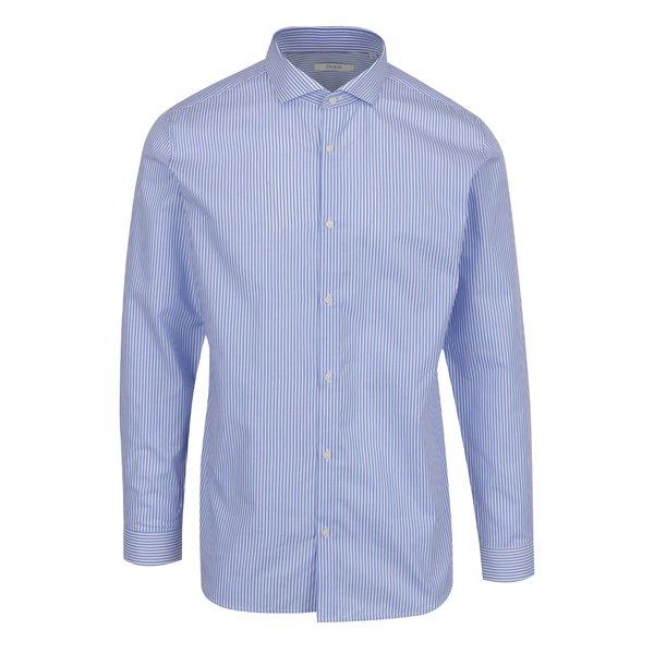 Camasa slim fit din bumbac cu dungi albastre & crem - Jack & Jones Premium Costa Rica