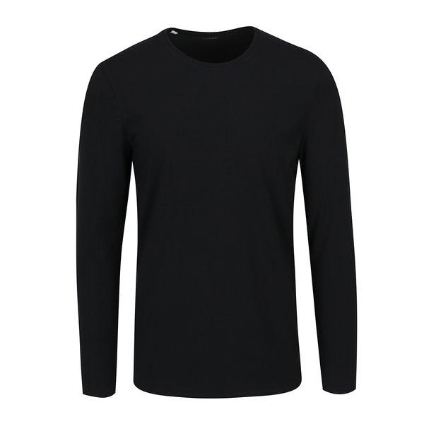 Bluză basic neagră Selected Homme Basic de la Selected Homme in categoria bluze