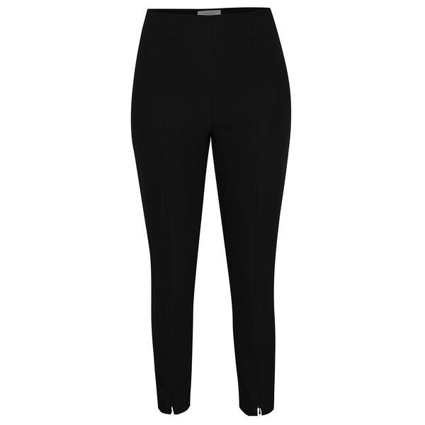 Pantaloni negri cu talie elastica Selected Femme Muno