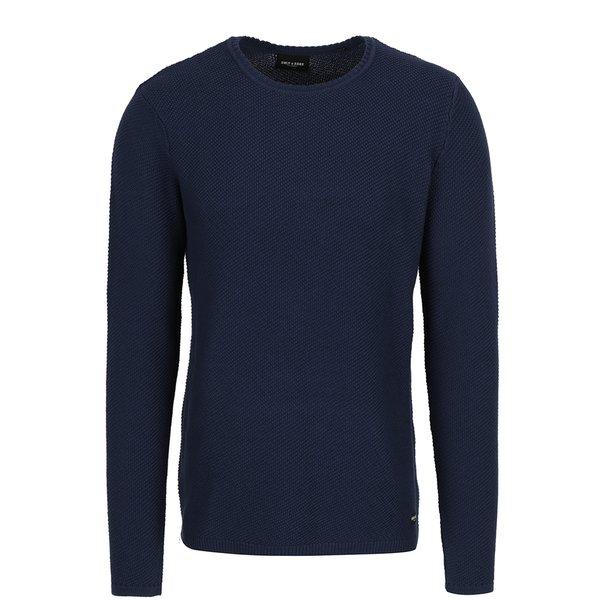 Pulover albastru cu model aparent ONLY & SONS Dan de la ONLY & SONS in categoria Pulovere și hanorace