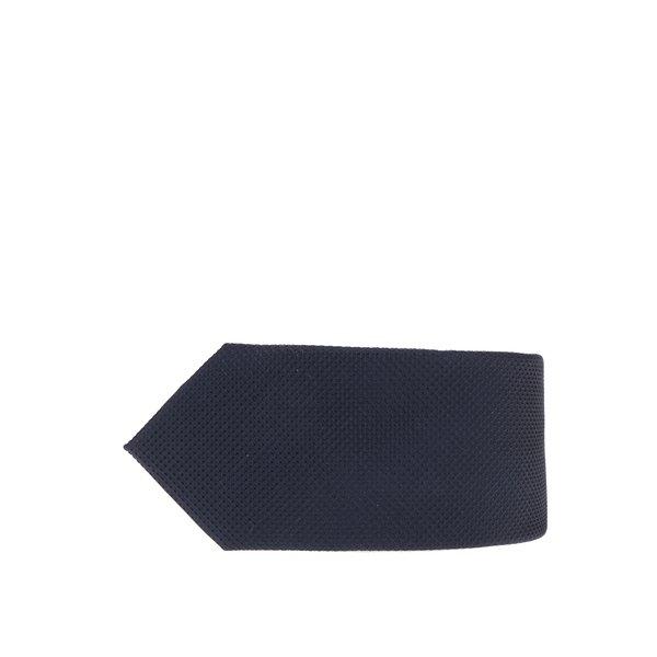 Cravată bleumarin din mătase cu model discret Jack & Jones Premium Colombia de la Jack & Jones Premium in categoria Accesorii