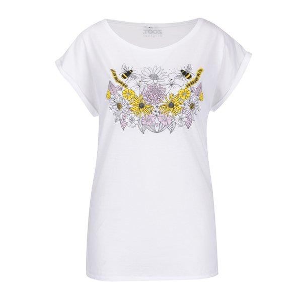 Tricou alb ZOOT Original print floral