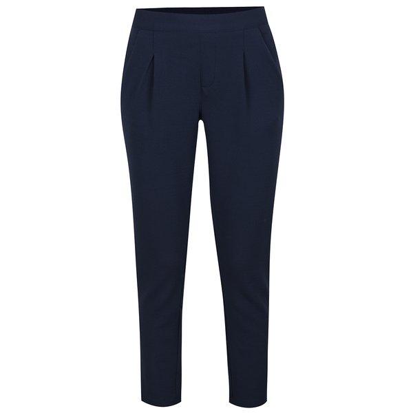 Pantaloni albastri cu talie elastica Jacqueline de Yong Dazzle