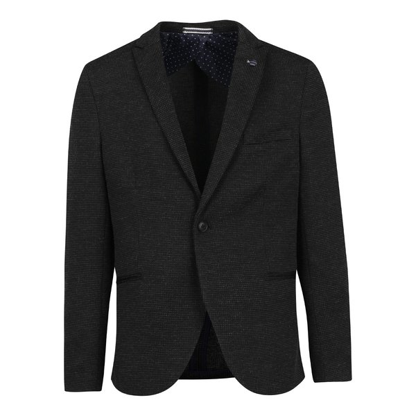 Sacou gri cu model discret Selected Homme Done Brett de la Selected Homme in categoria Geci, paltoane, jachete