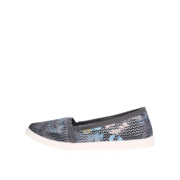 Teniși slip-on multicolori de damă Oldcom Tropic