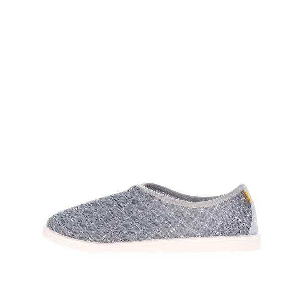 Pantofi sport gri cu perforații Oldcom Infinity