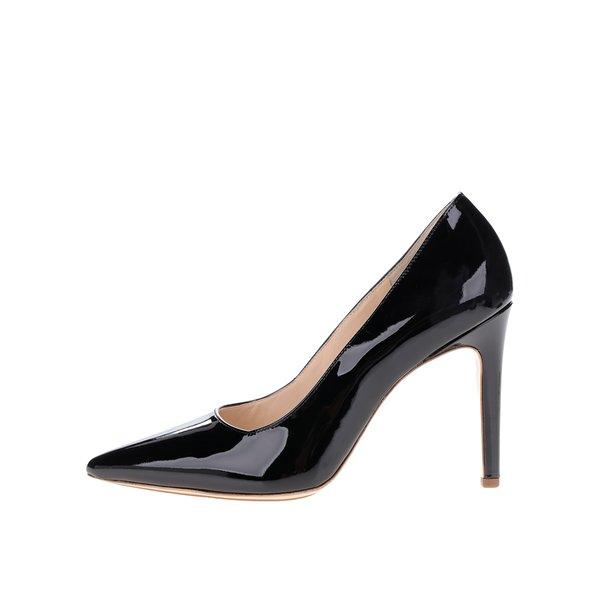 Pantofi negri din piele lăcuită Högl de la Högl in categoria pantofi cu toc
