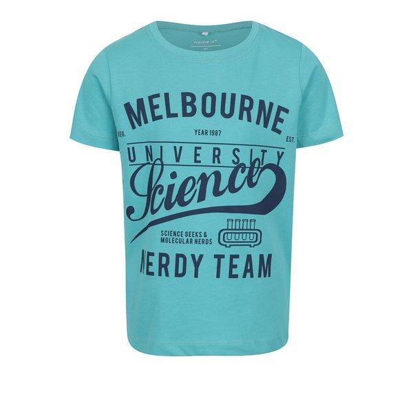 Tricou bleu pentru băieți Name it Victorian de la name it in categoria Tricouri, camasi