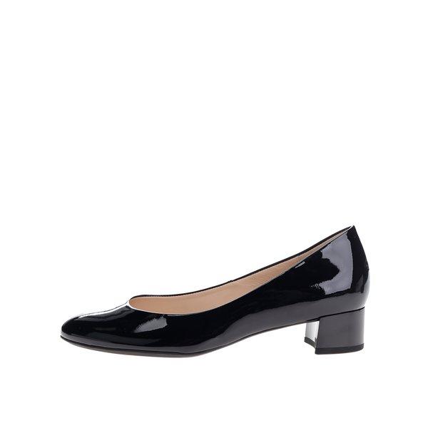 Pantofi bleumarin din piele lăcuită Högl de la Högl in categoria pantofi cu toc