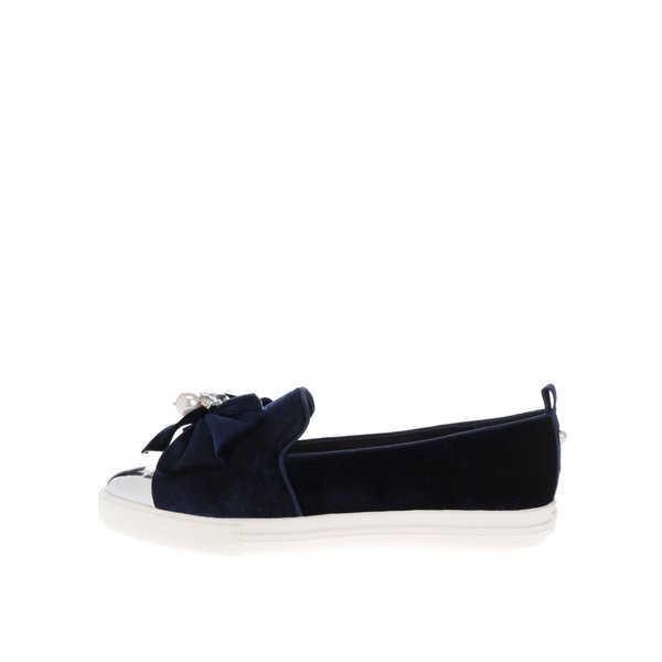 Pantofi loafer bleumarin cu mărgele Miss KG Lottie de la Miss KG in categoria pantofi și mocasini