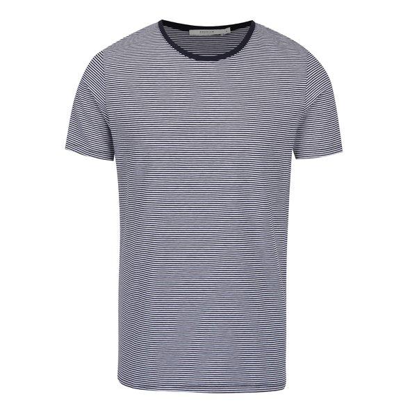 Tricou cu dungi alb & albastru – Jack & Jones Premium Pima de la Jack & Jones Premium in categoria tricouri