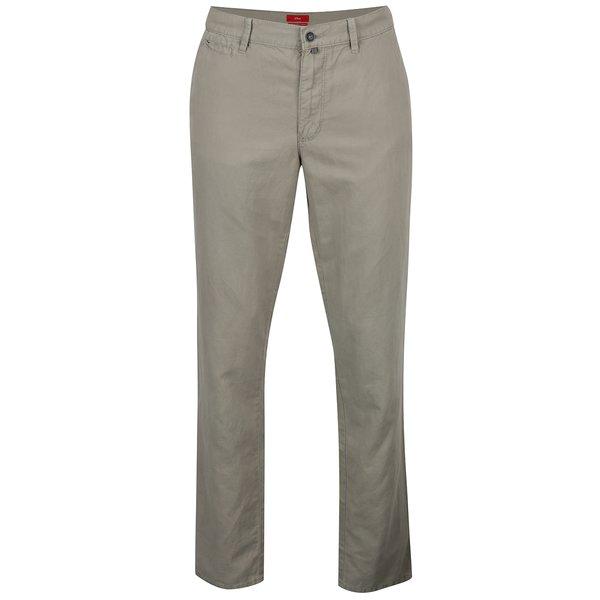 Pantaloni chino verde deschis regular fit pentru barbati – s.Oliver