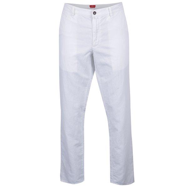 Pantaloni albi chino regular fit s.Oliver de la s.Oliver in categoria Blugi, pantaloni, pantaloni scurți