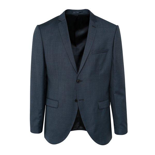 Sacou bleumarin din lână Selected Homme Done de la Selected Homme in categoria Geci, paltoane, jachete