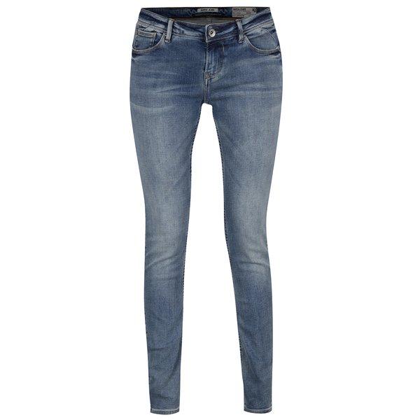 Blugi albaștri de damă cu croi slim fit Garcia Jeans Riva de la Garcia Jeans in categoria blugi