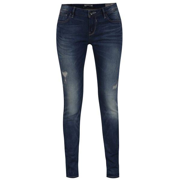 Blugi bleumarin de damă cu croi slim fit Garcia Jeans Riva de la Garcia Jeans in categoria blugi