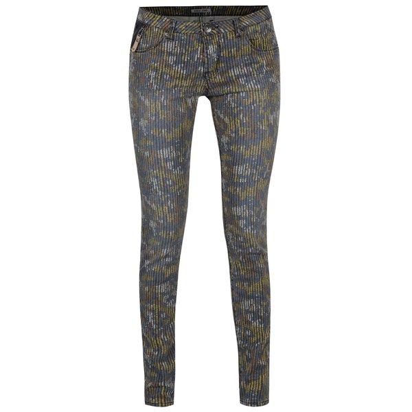 Pantaloni skinny multicolori de damă cu model Garcia Jeans Riva