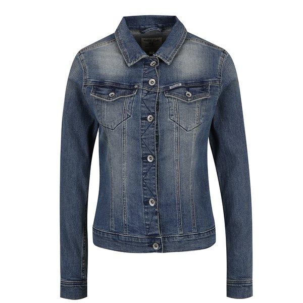 Jachetă albastră de damă din denim Garcia Jeans Sofia de la Garcia Jeans in categoria Geci, jachete și sacouri