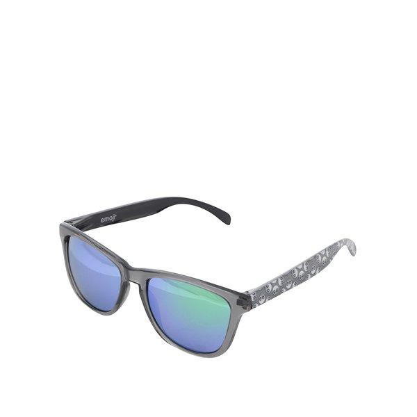 Ochelari de soare unisex cu lentile polarizate verzi – Emoji Alien de la Emoji in categoria Accesorii