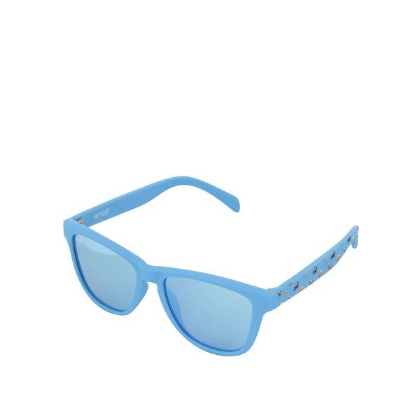 Ochelari de soare pentru copii cu lentile polarizate albastre - Emoji Spaces