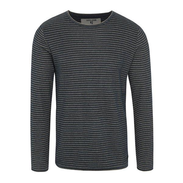 Bluză gri cu dungi Garcia Jeans pentru bărbați de la Garcia Jeans in categoria Pulovere și hanorace