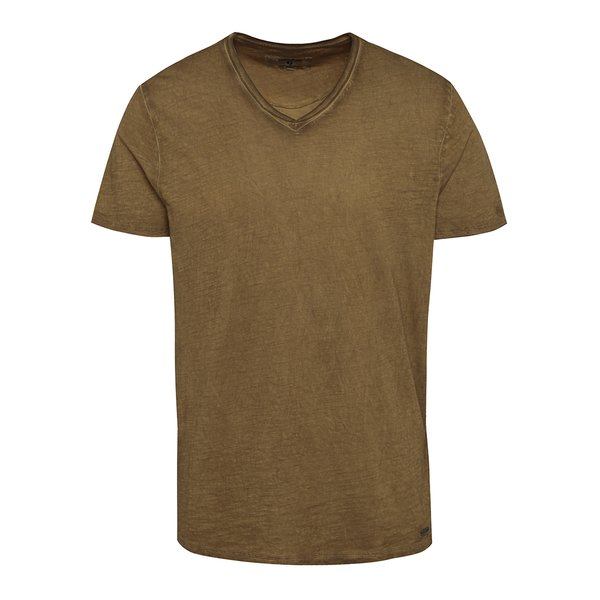 Tricou maro pentru bărbați Garcia Jeans Marco