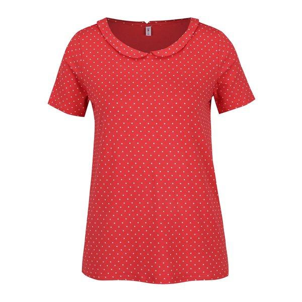 Bluză roșie cu buline Blutsgeschwister de la Blutsgeschwister in categoria tricouri