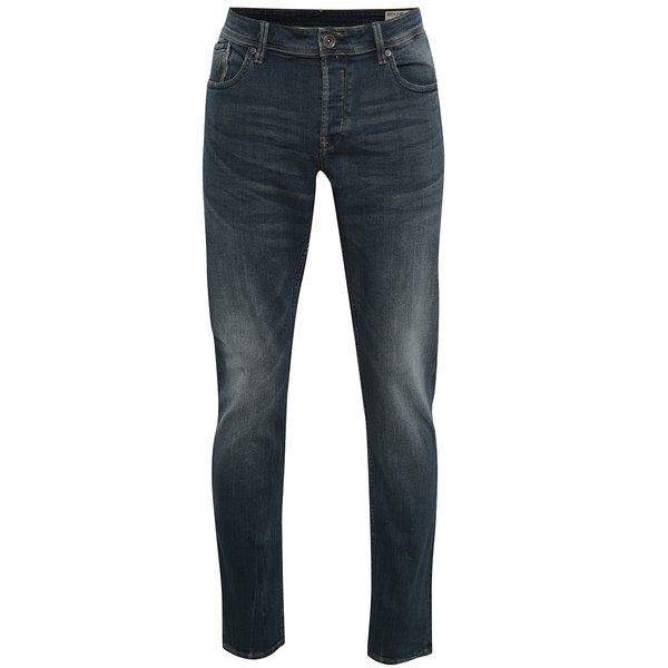 Blugi albastru închis slim fit pentru bărbați Garcia Jeans Savio de la Garcia Jeans in categoria Blugi, pantaloni, pantaloni scurți