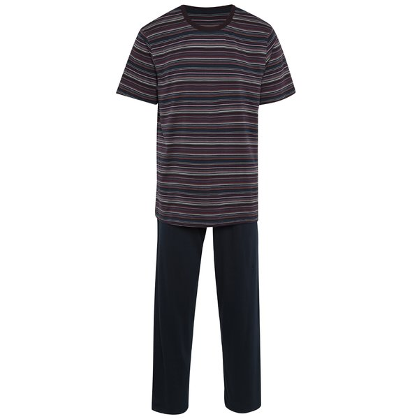 Pijama albastru închis din bumbac pentru bărbați – M&Co de la M&Co in categoria Lenjerie intimă, pijamale, șorturi de baie