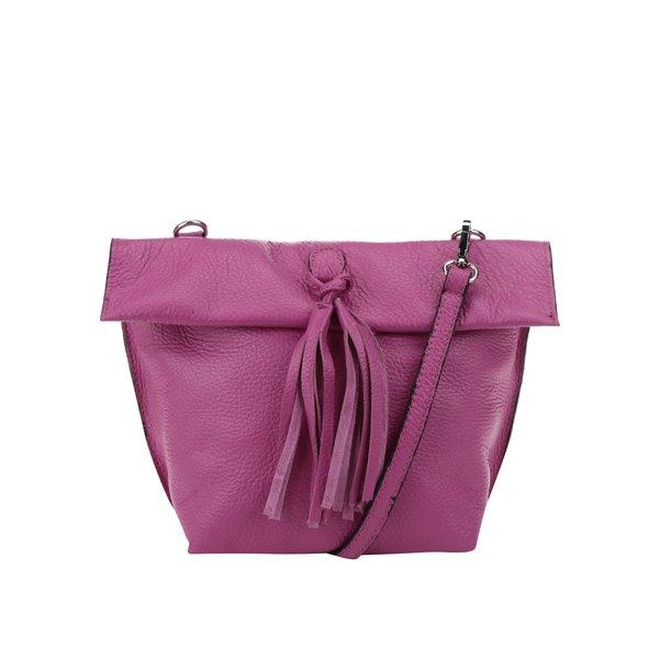 Geantă crossbody roz închis pliabilă din piele ZOOT de la ZOOT in categoria genți mici