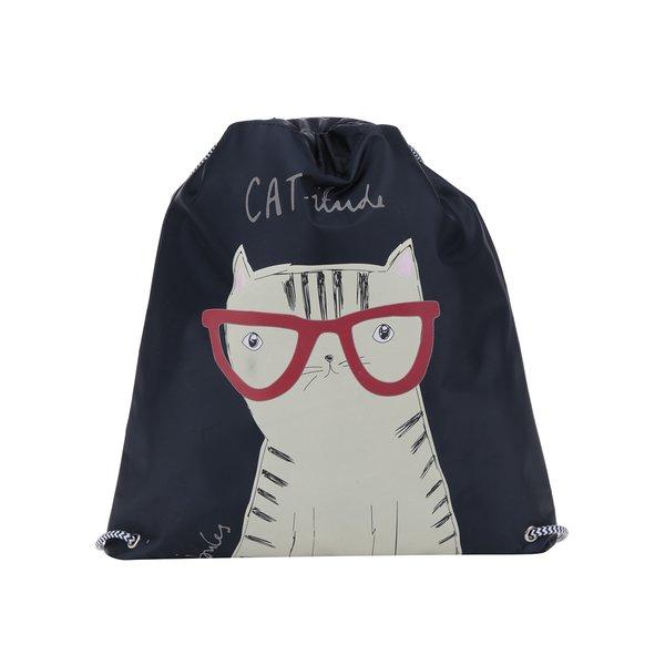 Rucsac bleumarin cu print pisică pentru copii Tom Joule de la Tom Joule in categoria Accesorii