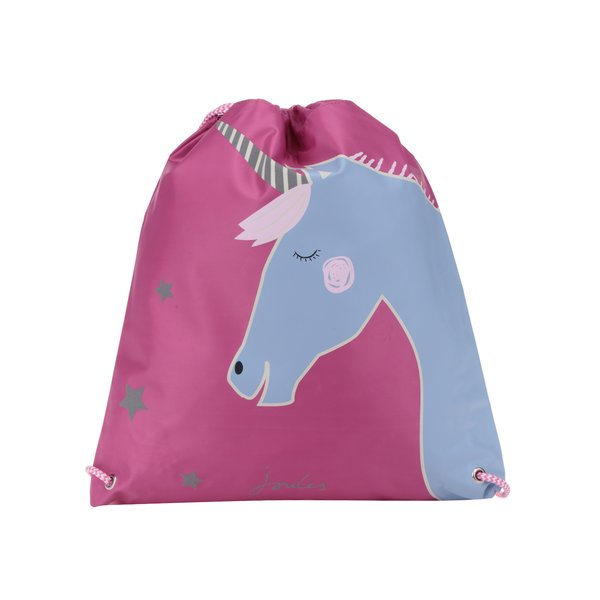 Rucsac roz cu print unicorn pentru fete Tom Joule de la Tom Joule in categoria Accesorii