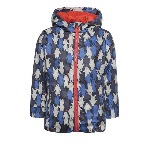 Jachetă impermeabilă albastră cu print cu urși pentru copii Tom Joule de la Tom Joule in categoria Geci, jachete, paltoane