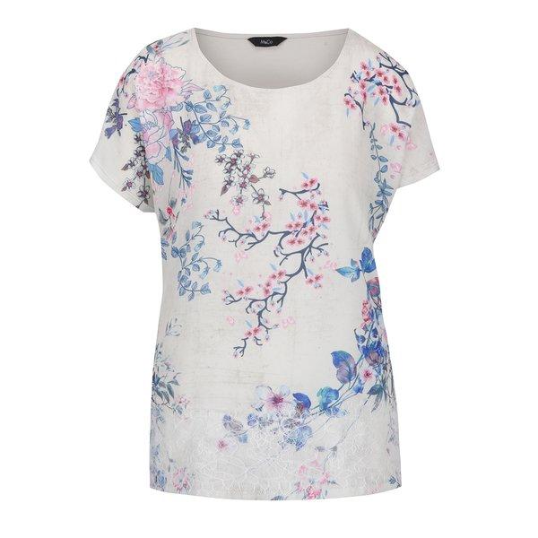 Bluză crem cu imprimeu floral - M&Co