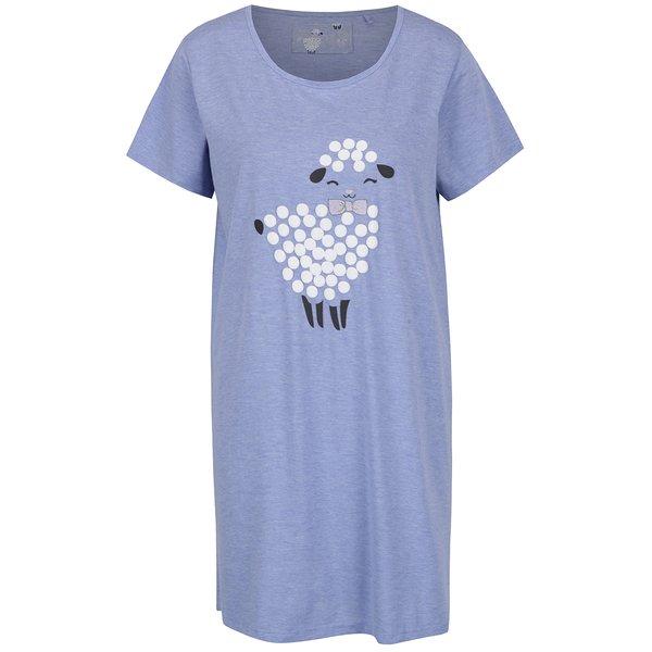 Cămașă de noapte albastru deschis cu mânecă scurtă – M&Co de la M&Co in categoria Lenjerie intimă, pijamale, costume de baie
