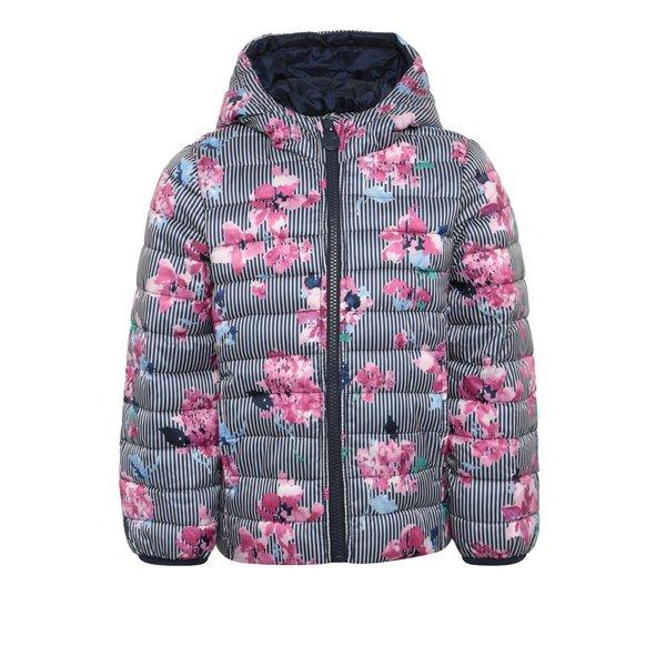 Jachetă multicoloră matlasată pentru fete Tom Joule