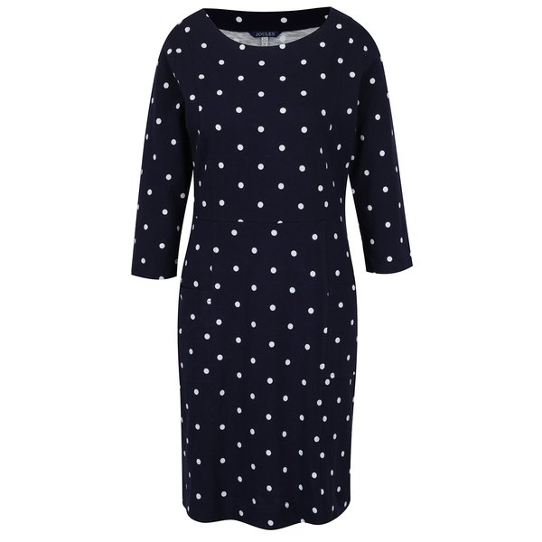 Rochie midi bleumarin cu buline Tom Joule de la Tom Joule in categoria rochii casual